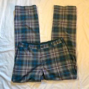Nike Mens Golf Plaid Pants 32/32